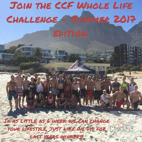 And finally, the winners of all 3 of our CCF Whole Life Challenges!