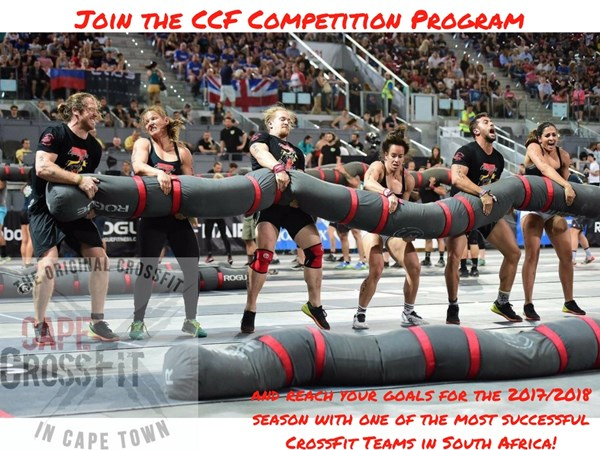 CCF Competition - we are now offering more classes for Competitive CCF Athletes!