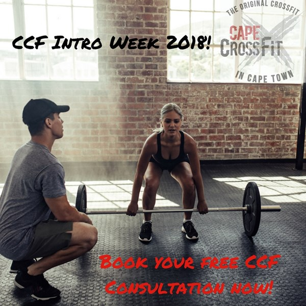 The interest to join Cape CrossFit is bigger than ever, book our FREE Intro Sessions this week and become the best version of you in 2018!