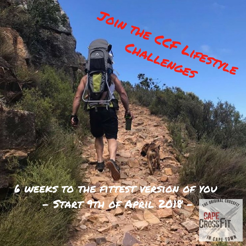 "Enter the ""CCF Lifestyle""-challenges to find your fittest you!"