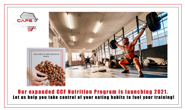 LAUNCHING: CCF Nutrition Coaching 2021!