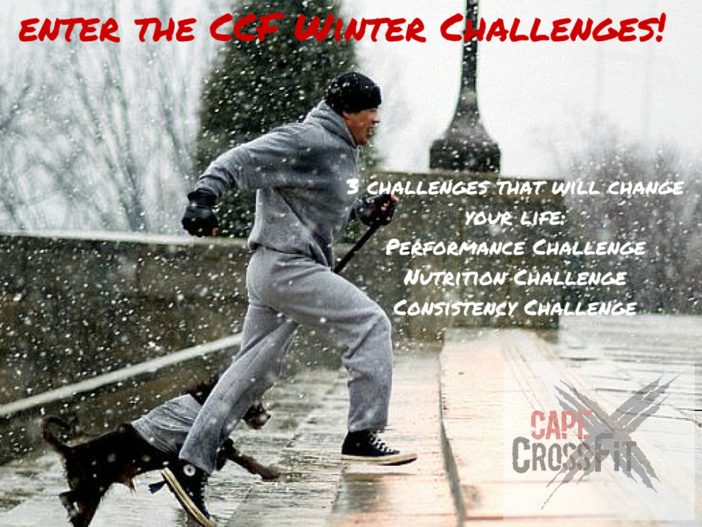 Enter the CCF Winter challenges!