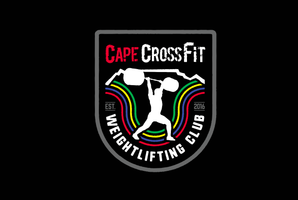 This is a draft logo for the CCF Weightlifting Club