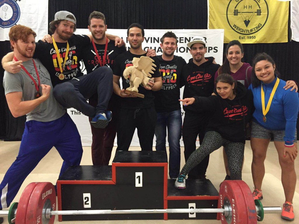 18297504e704 CCF Weightlifting Club won the trophy for highest ranked WL Club at the WP  Champs last weekend - why would you not want to train with these guys